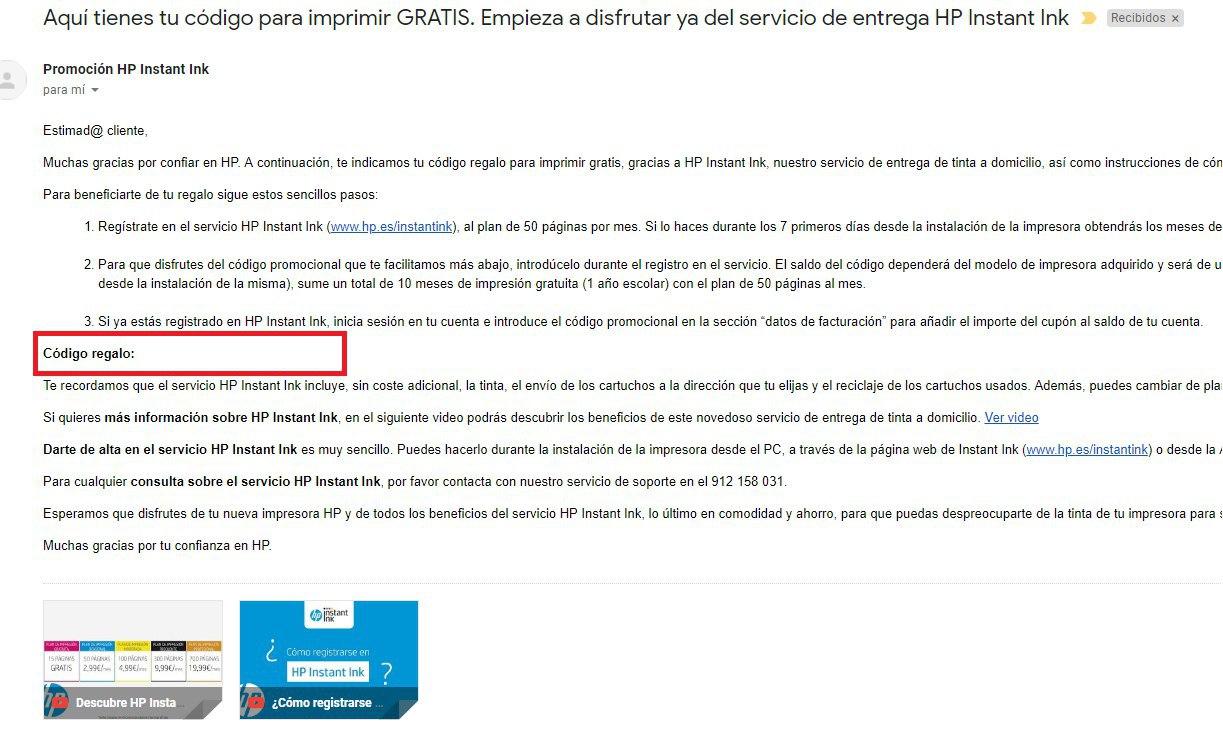 Impresora Hp Multifunción Con 1 Año De Tinta Gratis 1 Mes Extra