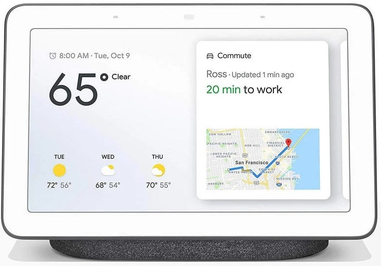 Altavoz Inteligente Google Nest Hub