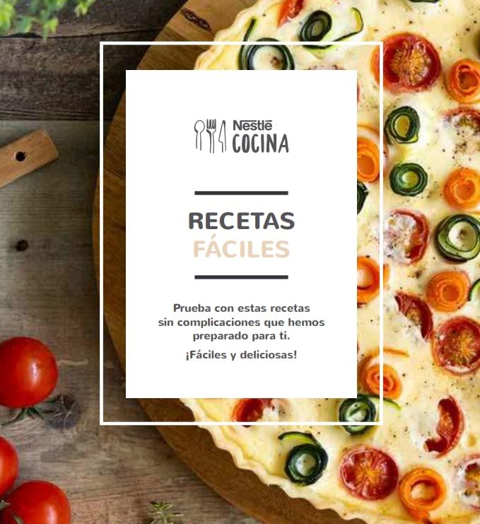 Recetario Digital Recetas Fáciles Nestlé Cocina