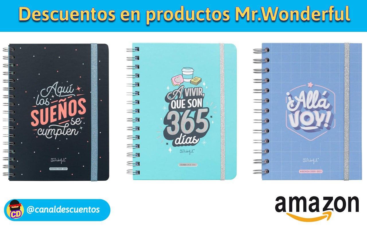 Descuentos en productos Mr.Wonderful