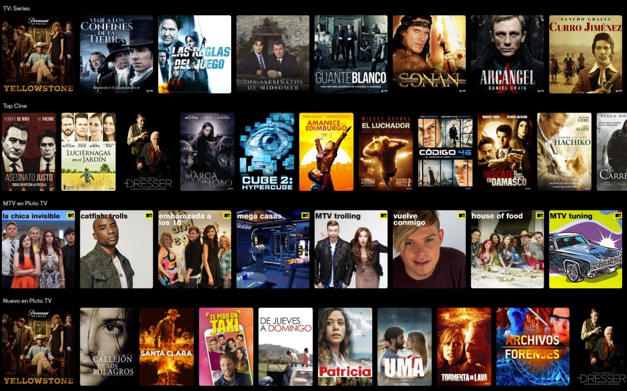 Recopilación Películas y Series Online