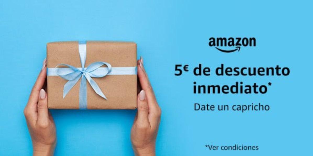 5€ de descuento para compras +25€ en Amazon (Cuentas seleccionadas)