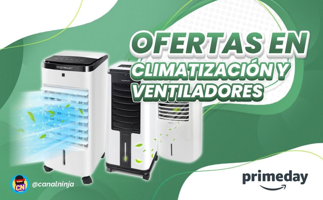 Ofertas en climatización y ventiladores