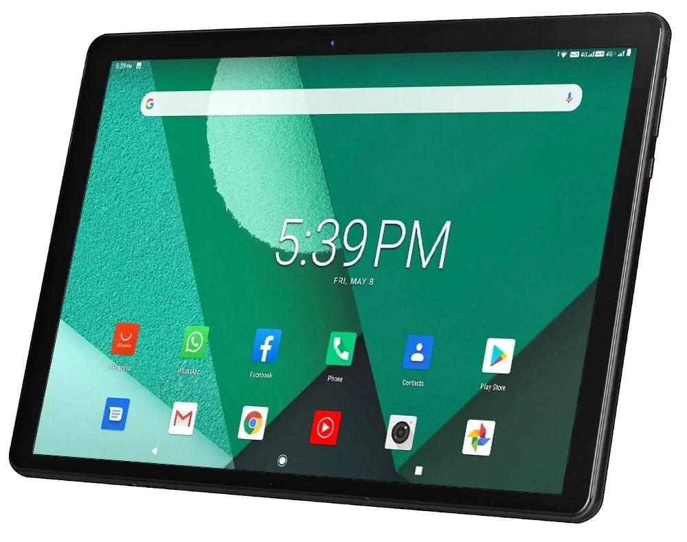 "Tablet 10.1"" DBF con Android, GPS y 3G/4G"