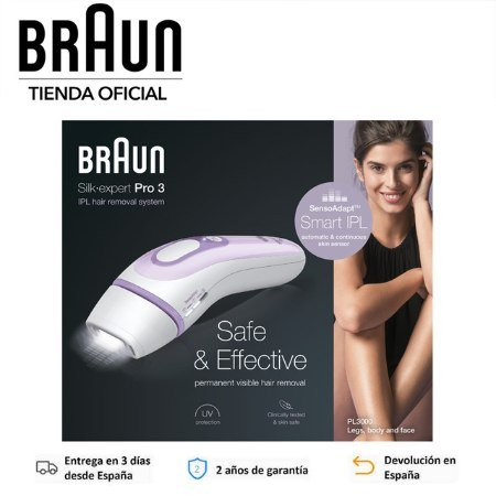 Braun Silk-expert 3 IPL BD 3000 depiladora Láser IPL