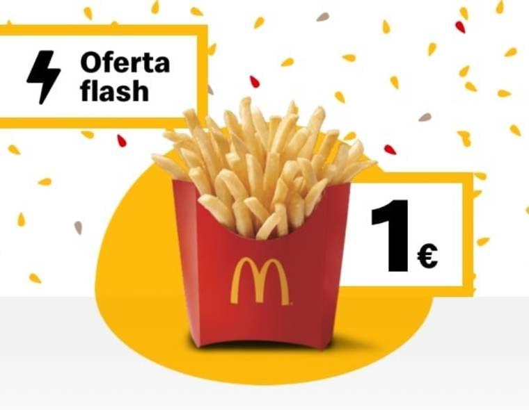 Patatas medianas en McDonald's (Oferta semanal)