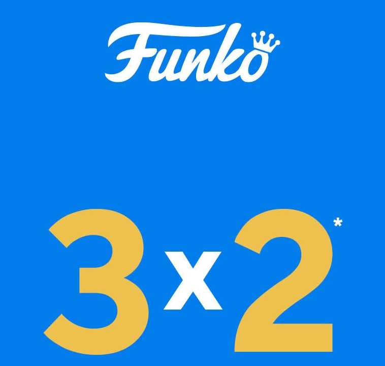 3x2 en selección Funko Pop! EMP (envío gratis)