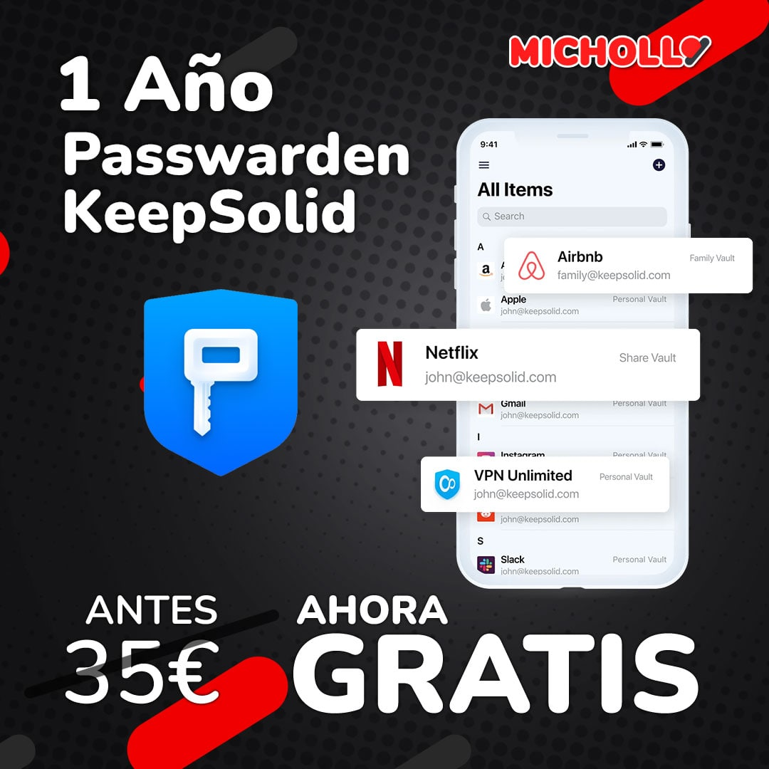 1 Año Passwarden KeepSolid