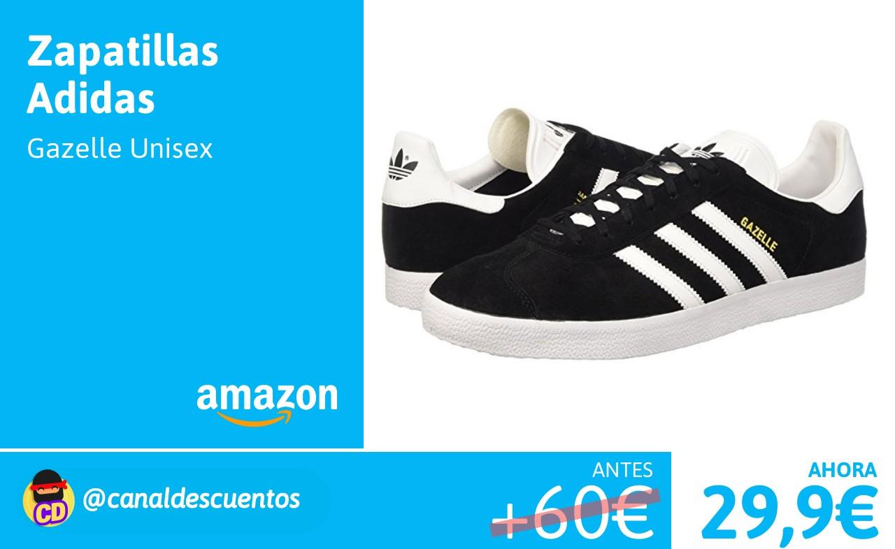 51aa6bd6eb7 Adidas Gazelle Unisex desde 29