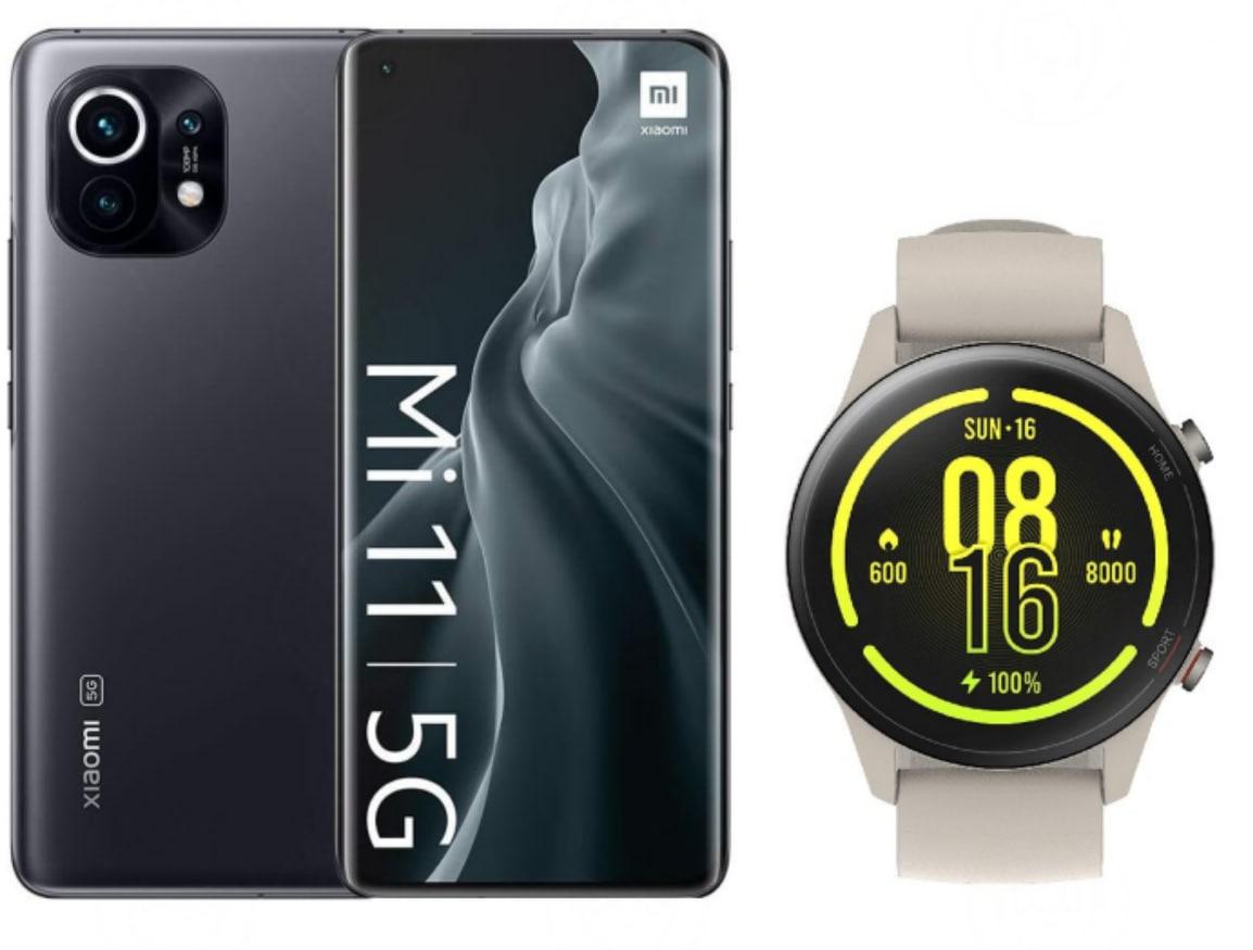 Xiaomi Mi 11 + Xiaomi Mi Watch