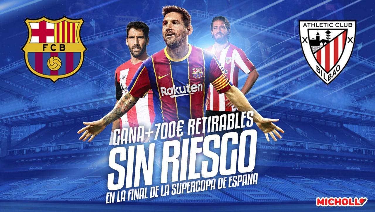 Hasta 770€ Retirables Barcelona - Ath. Bilbao Supercopa de España