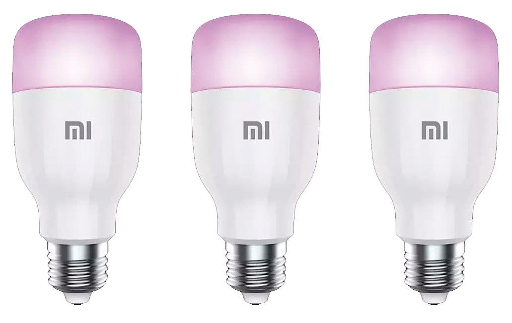 3x Bombillas Xiaomi Mi Smart LED Color