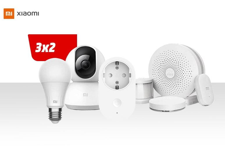 3x2 en productos Xiaomi en Mediamarkt