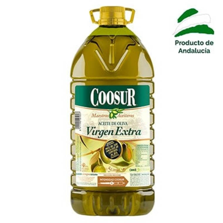 Garrafa Aceite de Oliva Virgen Extra 5 litros