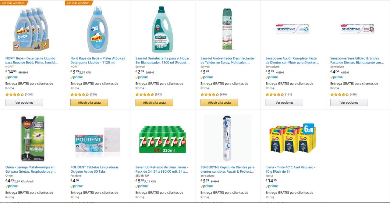 Ahorra 5€ por cada 15€ de compra de productos de limpieza